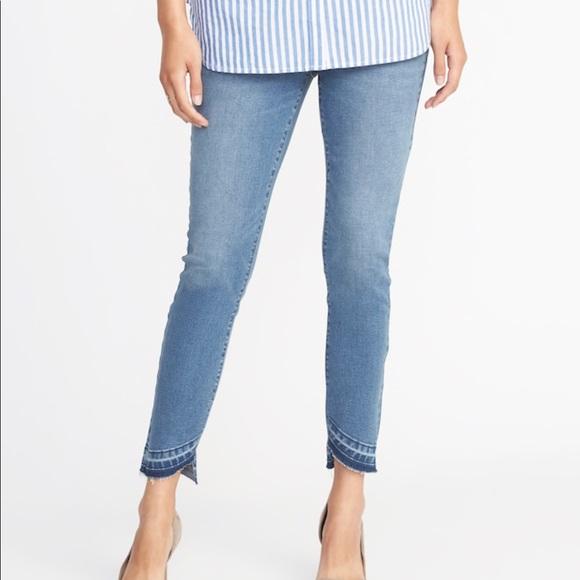 a117eb53662dd Old Navy Jeans | Rockstar Jeggings Raw Hem 18 Plus | Poshmark